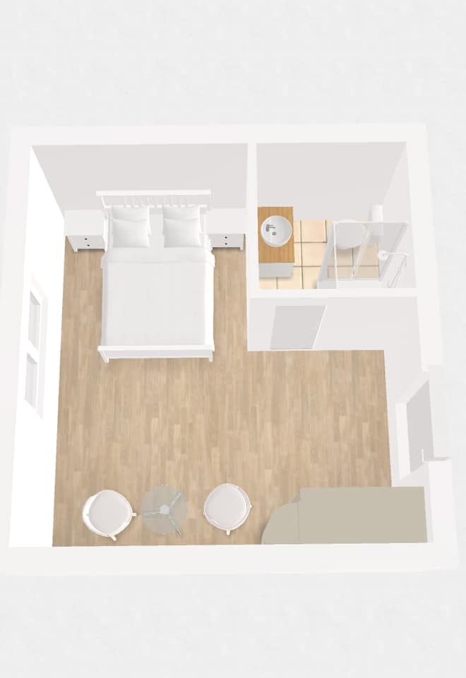 Grundriss Zimmer